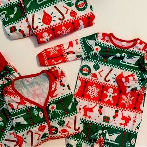 Christmas Set Family photo Pajamas-  Mom-Dad Baby